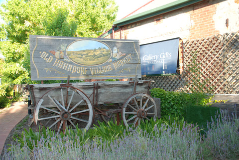 The wagon from the old barn.