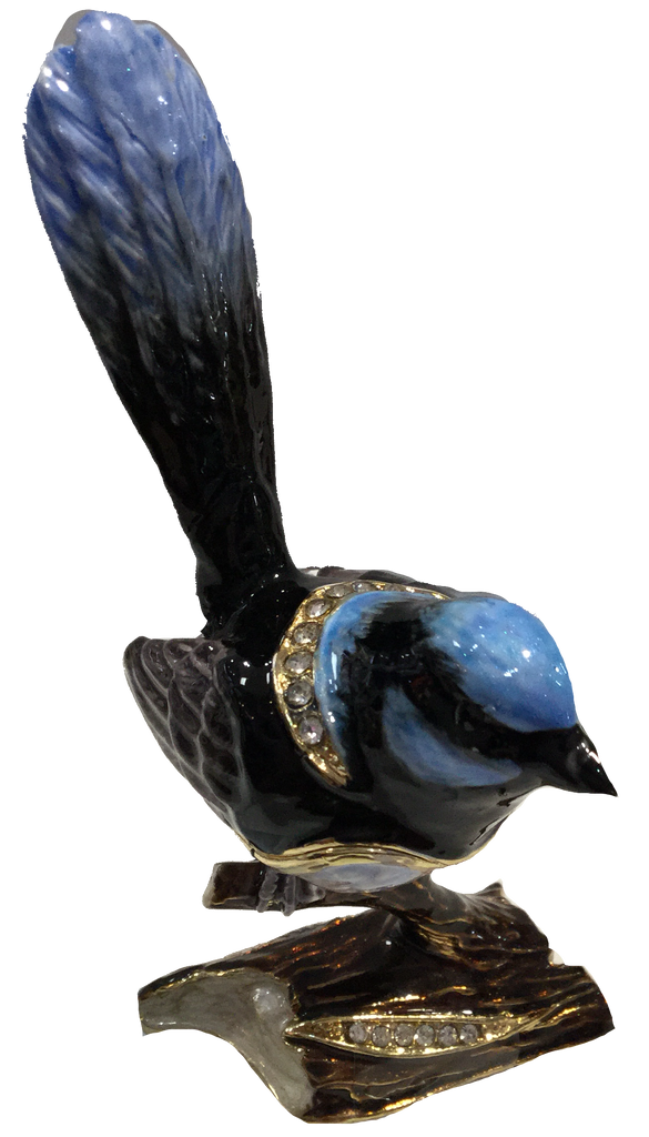 Blue Wren Trinket