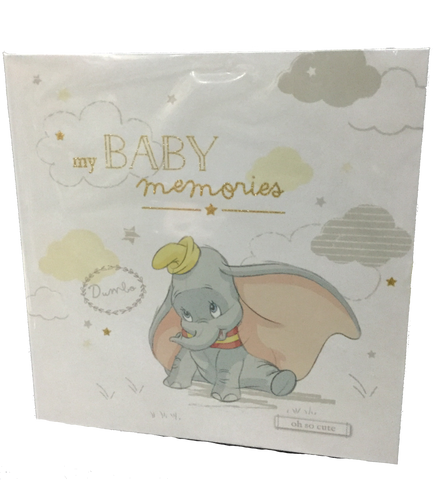 My Baby record book- Dumbo