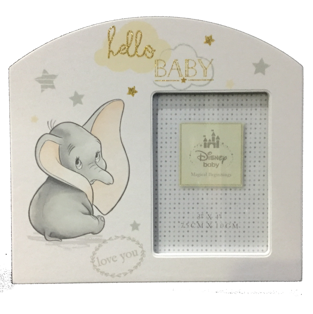 Love you Hello baby Dumbo frame