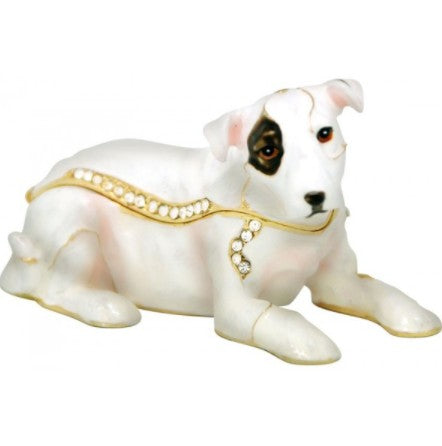 bull terrier trinket box