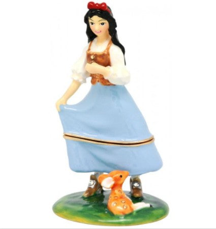 Snow white trinket box