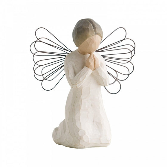 Angel of prayer orn