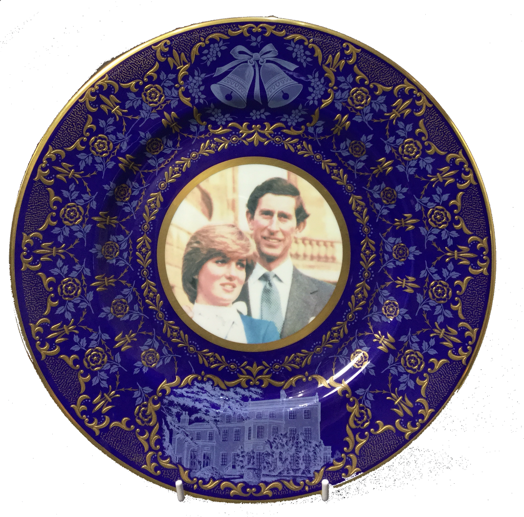CHARLES & DIANNA WEDDING PLATE