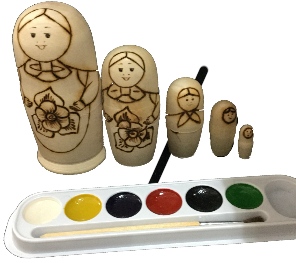Babuska Painting Set
