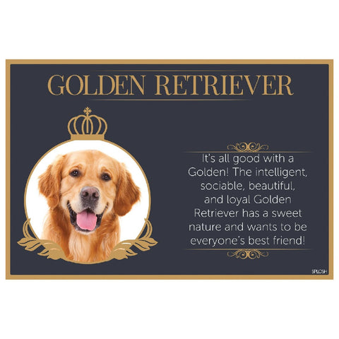 Golden Retriever Placemat