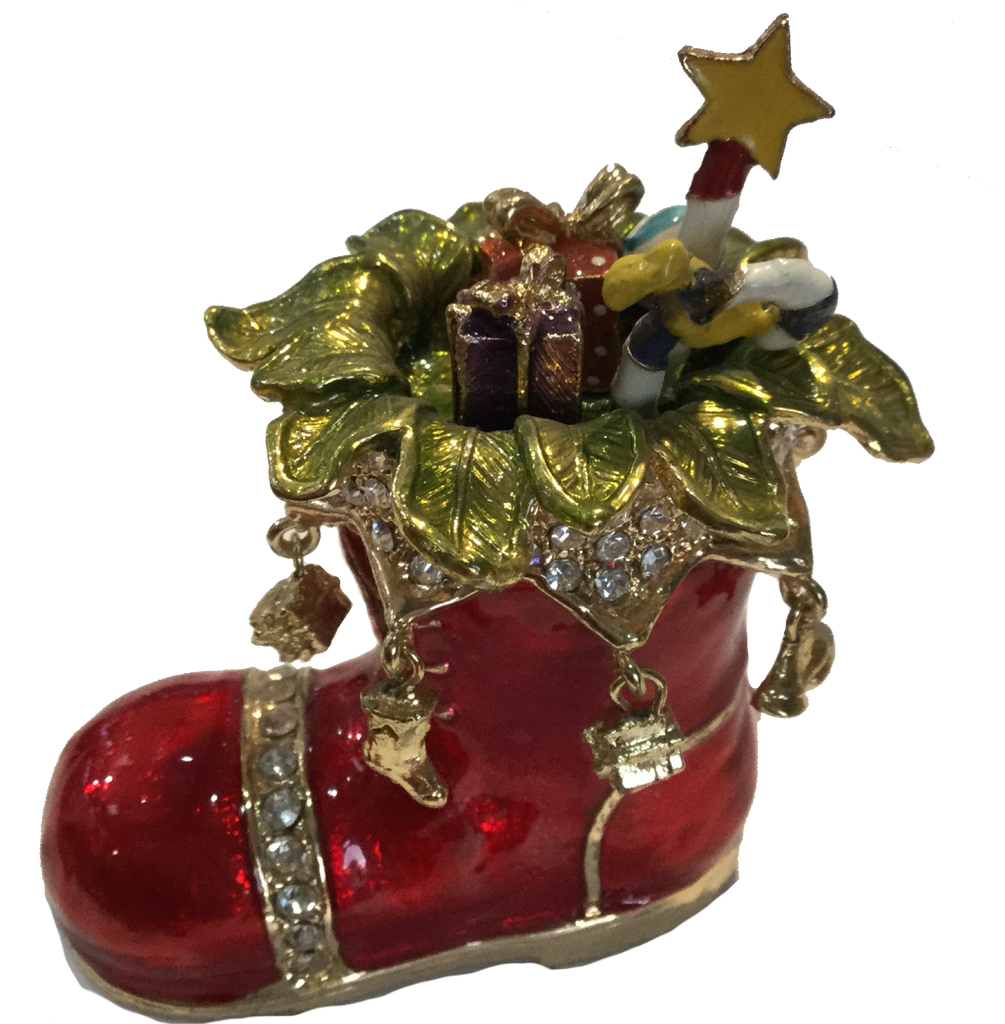Christmas Boot Trinket