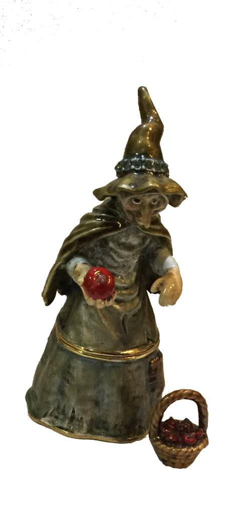 Witch with apple ( snow white collection)