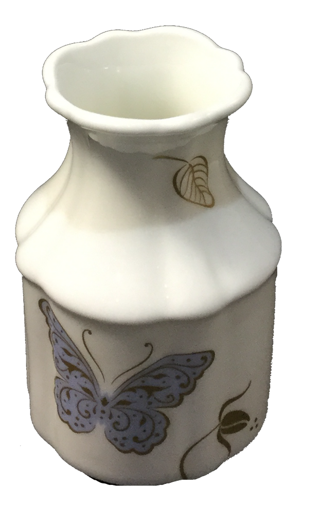 Royal Butterfly Vase