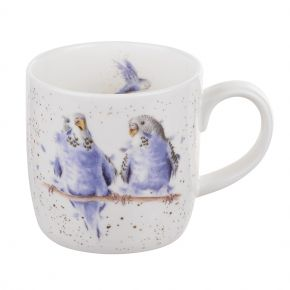 Date night- budgie mug