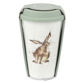 Hare- travel mug