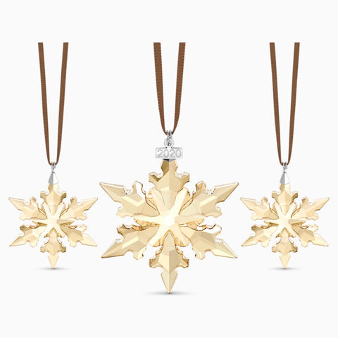 2020 Festive ornament 3pc set