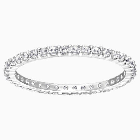 Vittore, White, Rhodium Plated
