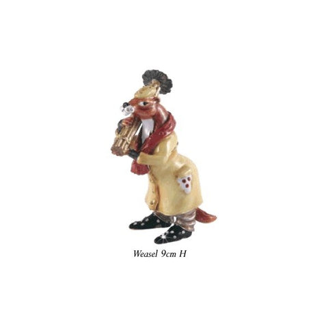 Weasel - Wind In The Willows Trinket