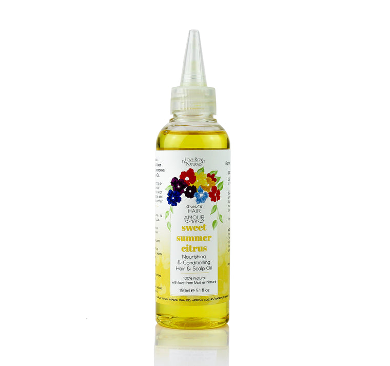 Hair Amour 'Sweet Summer Citrus' Nourishing & Conditioning Hair & Scalp Oil 150ml