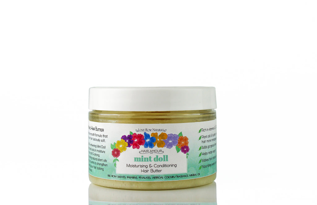 Hair Amour Hair Moisturising & Strengthening Butter 'Mint Doll' 100g
