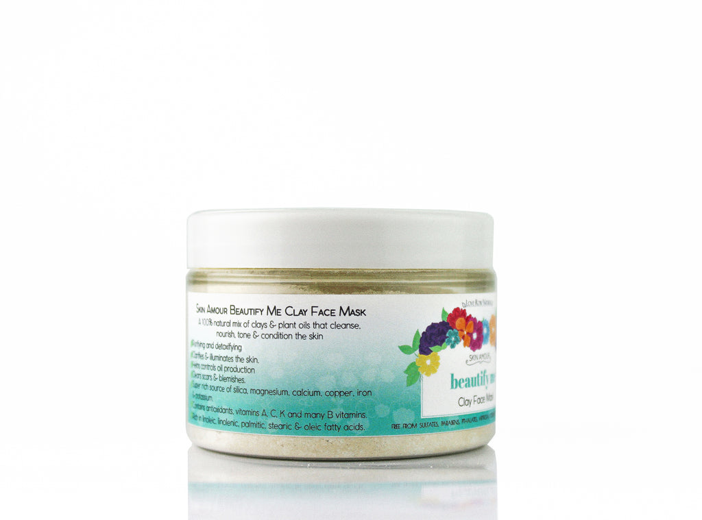 Skin Amour Beautify Me Natural Clay Face Mask 100g