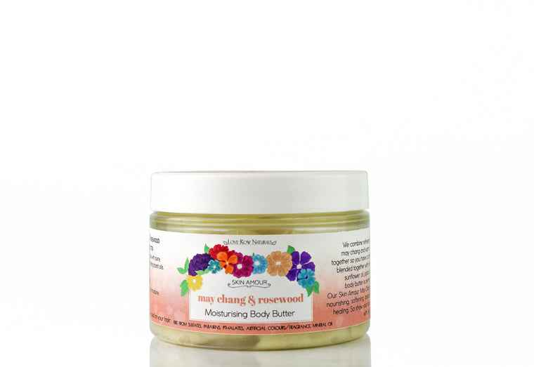 Skin Amour May Chang & Rosewood Body Butter