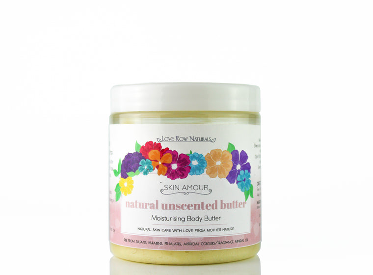 Skin Amour Unscented Body Butter 200g