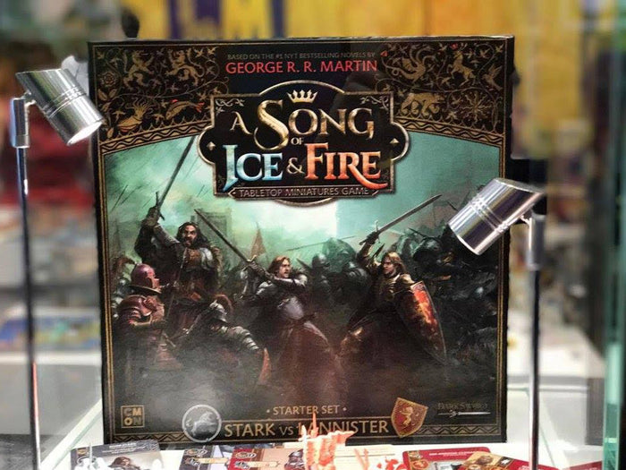 A Game of Thrones Miniatures Game Announced, A Song of Ice & Fire
