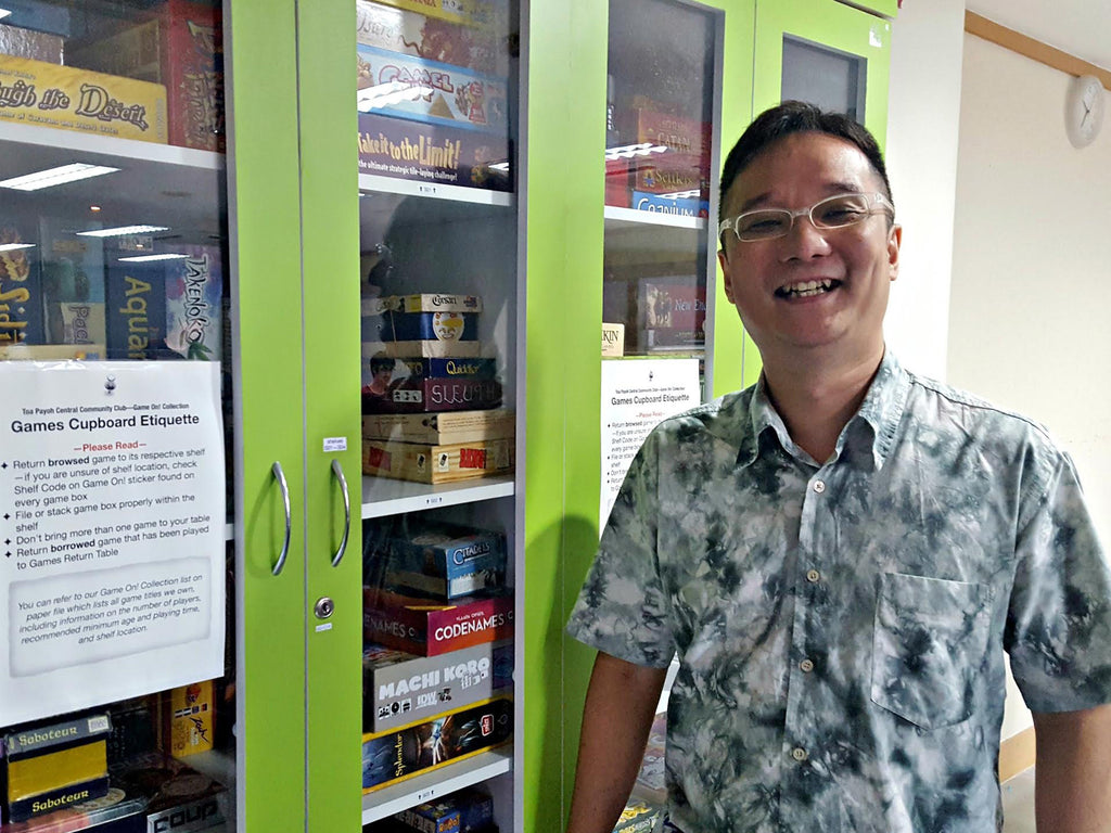 Boardgamers of Singapore #3: Andy Ng (The Discerning Organiser)