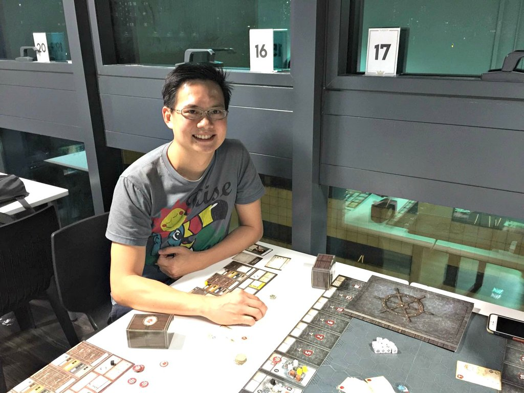 Board Gamers of Singapore #9: Ben Tan (Organising with a Smile)