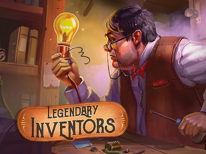 Legendary inventors Board Game invention Eda Lovelace Albert Einstein Edison tesla