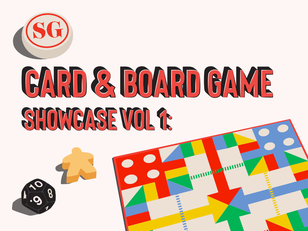 SG Card & Board Game Showcase Vol.1 @NDC, your questions answered!