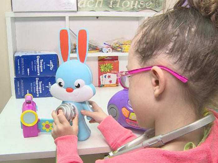 Rabbit Ray, a child's best friend to learn about Pediatric Education
