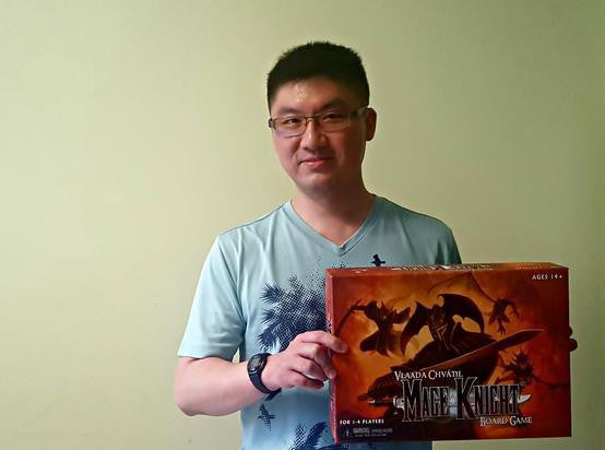 Board Gamers of Singapore #2: CX a.k.a Chuan Xin  (The Undefeatable)