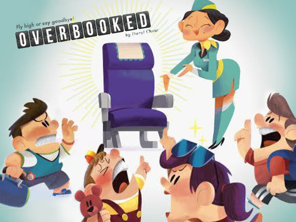 Overbooked - Become the next SIA with this locally made Board Game.