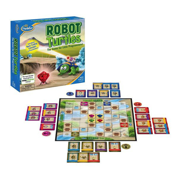 Robot Turtles, more than just another kid's programming game