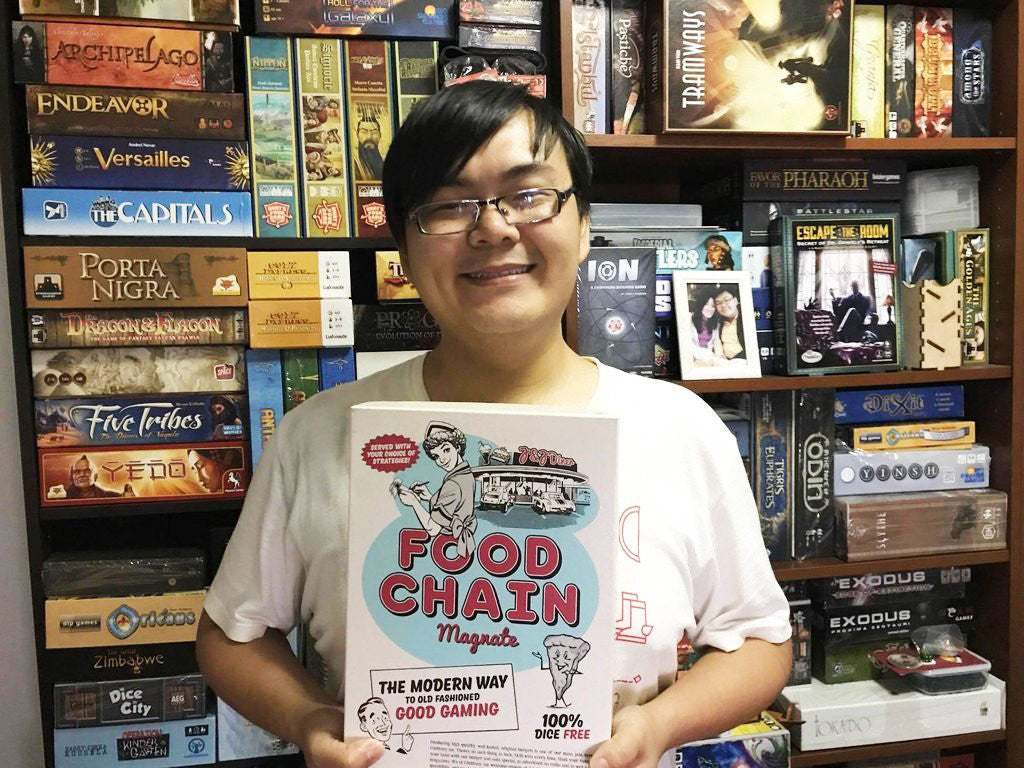 Board Gamers of Singapore #7: Han Weiding  (The Lord of Smiles)