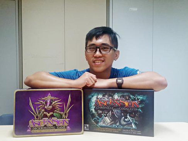 Boardgamers of Singapore #5: Xeno (The One Man Army)