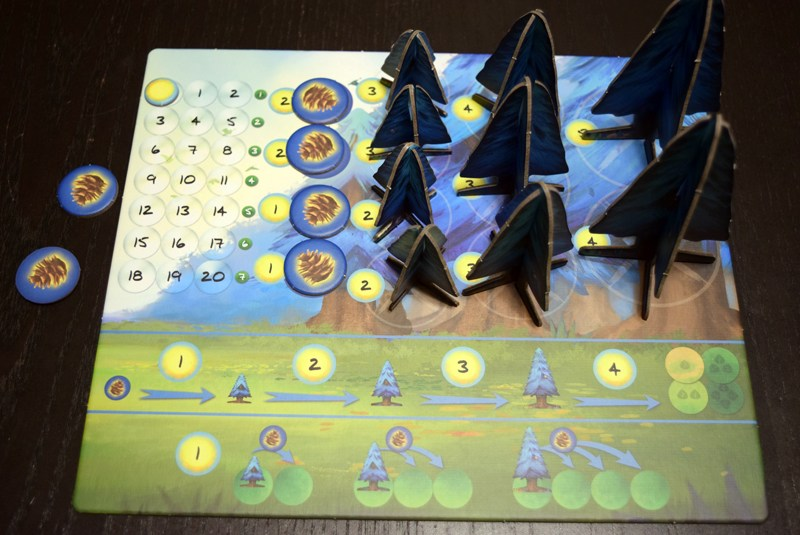 Photosynthesis board game - Scoring Sheet and Shop