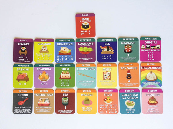 Sushi Go Party Cards