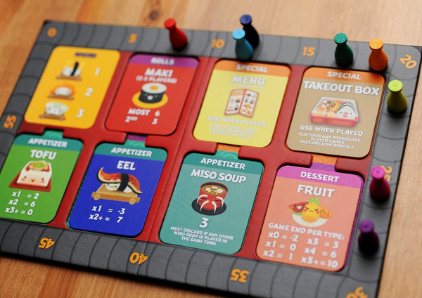 Sushi Go Party Game Board