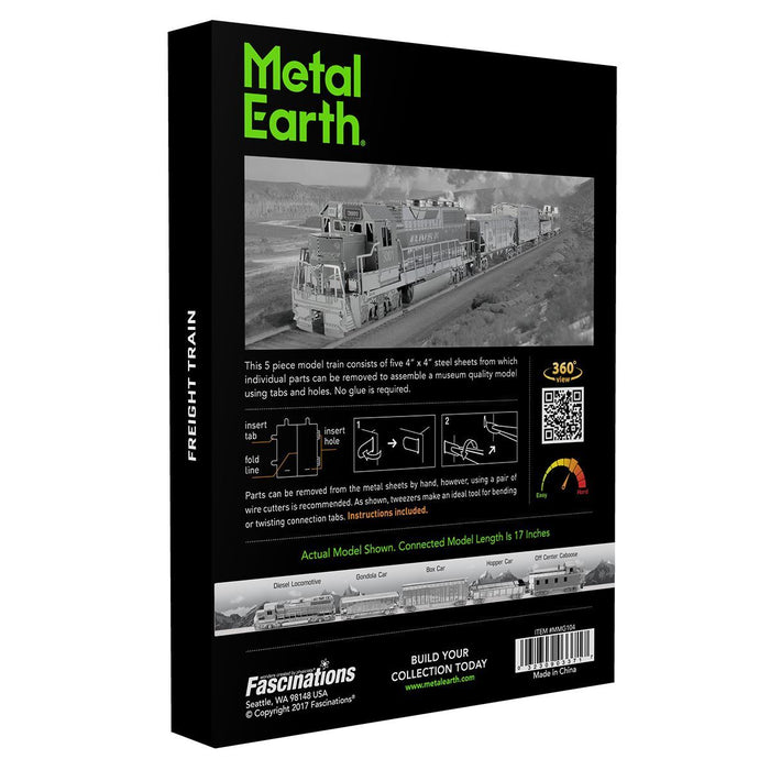 Metal Earth - Freight Train set