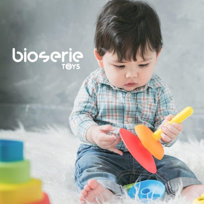 Bioserie Toys - 2 in 1 Stacker - TOYTAG