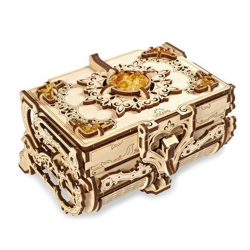 UGEARS 3D Wooden Puzzle - The Amber Box