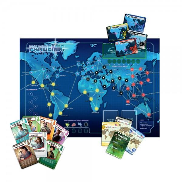 Pandemic Board Game - TOYTAG