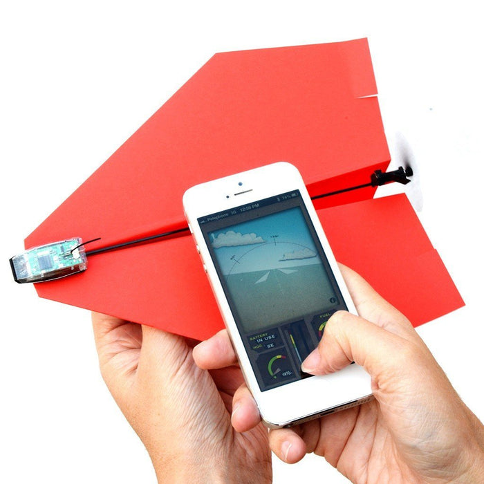 PowerUp 3.0 - Smartphone Controlled Paper Airplane - TOYTAG