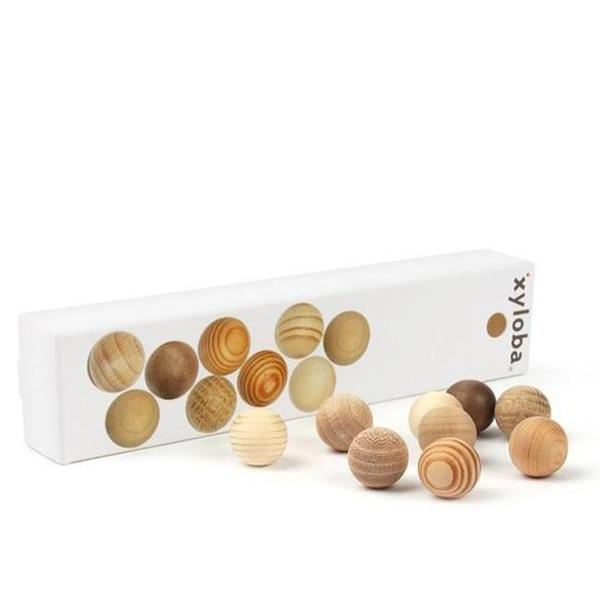 Xyloba Wooden Marble Set