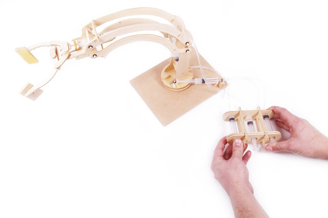 Hydraulic Robotic Arm Building Kit - TOYTAG