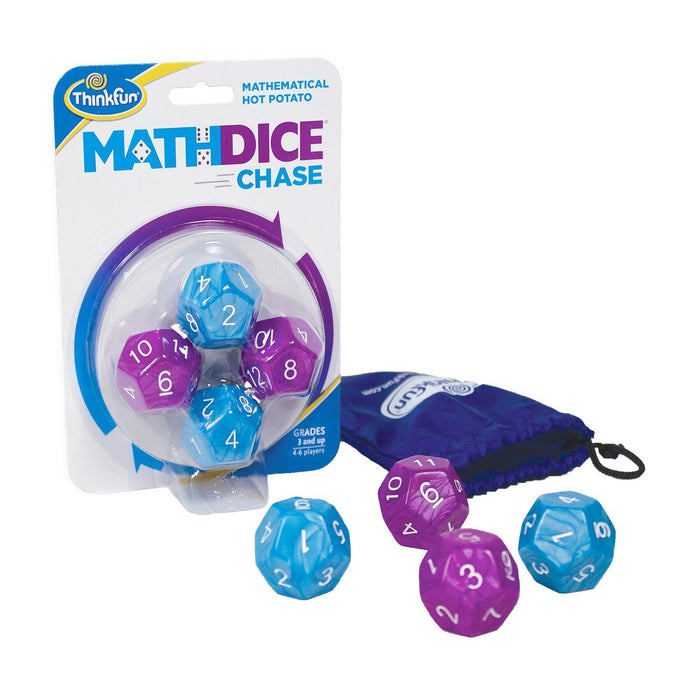 Math Dice Chase - TOYTAG