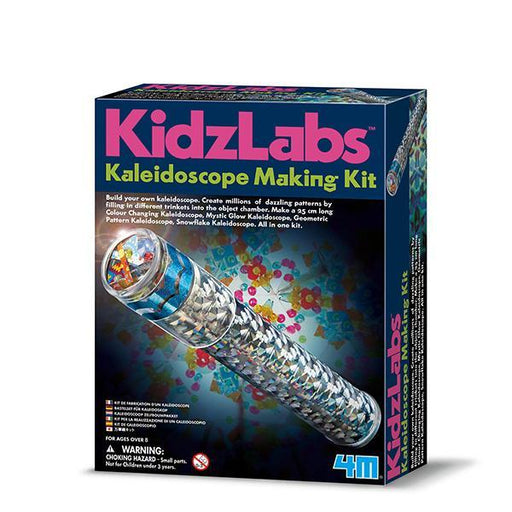 4M KidzLabs Kaleidoscope Making Kit - TOYTAG