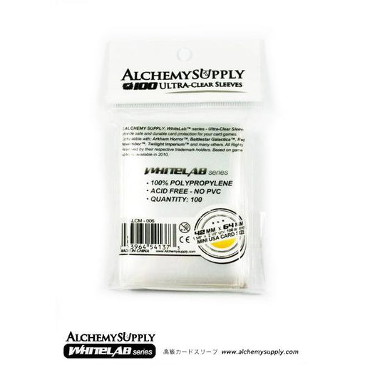 Alchemy Supply Card Sleeves: Mini USA (100) - TOYTAG