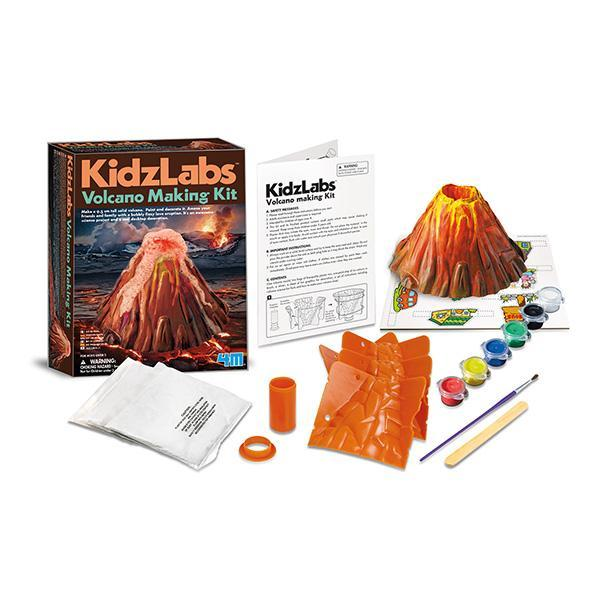 4M KidzLabs Volcano Making Kit - TOYTAG