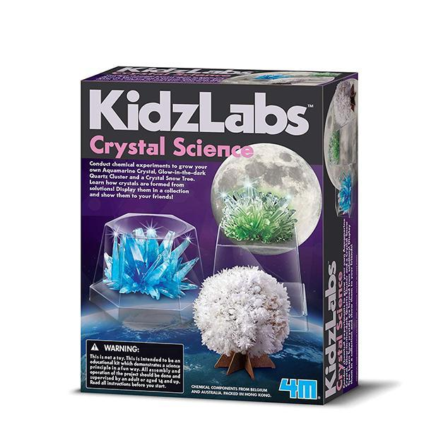 4M KidzLabs Crystal Science - TOYTAG