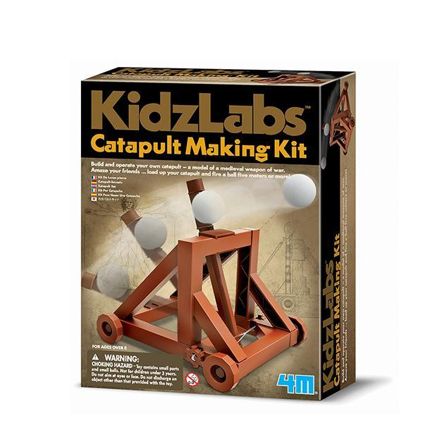 4M KidzLabs Catapult Making Kit - TOYTAG